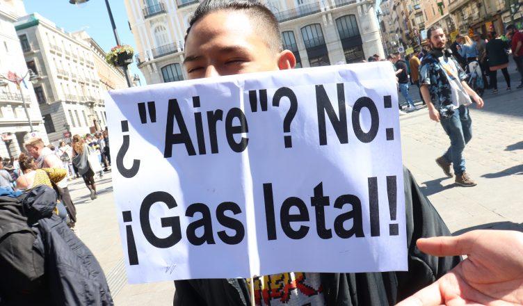 """¿""""aire""""? no: ¡gas letal!"""